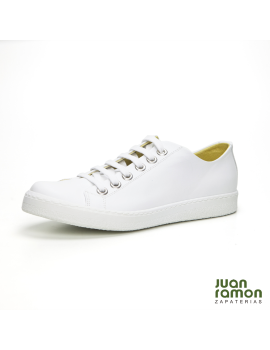 ZAPATILLA BLUCHER BLANCO